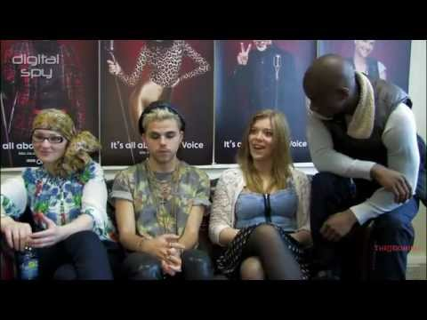 The Voice UK Team Jessie J: Vince Kidd,Becky Hill,Toni Warne & Cassius Henry interview