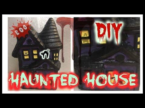 DIY - HAUNTED HOUSE (PART 2) HALLOWEEN DIY