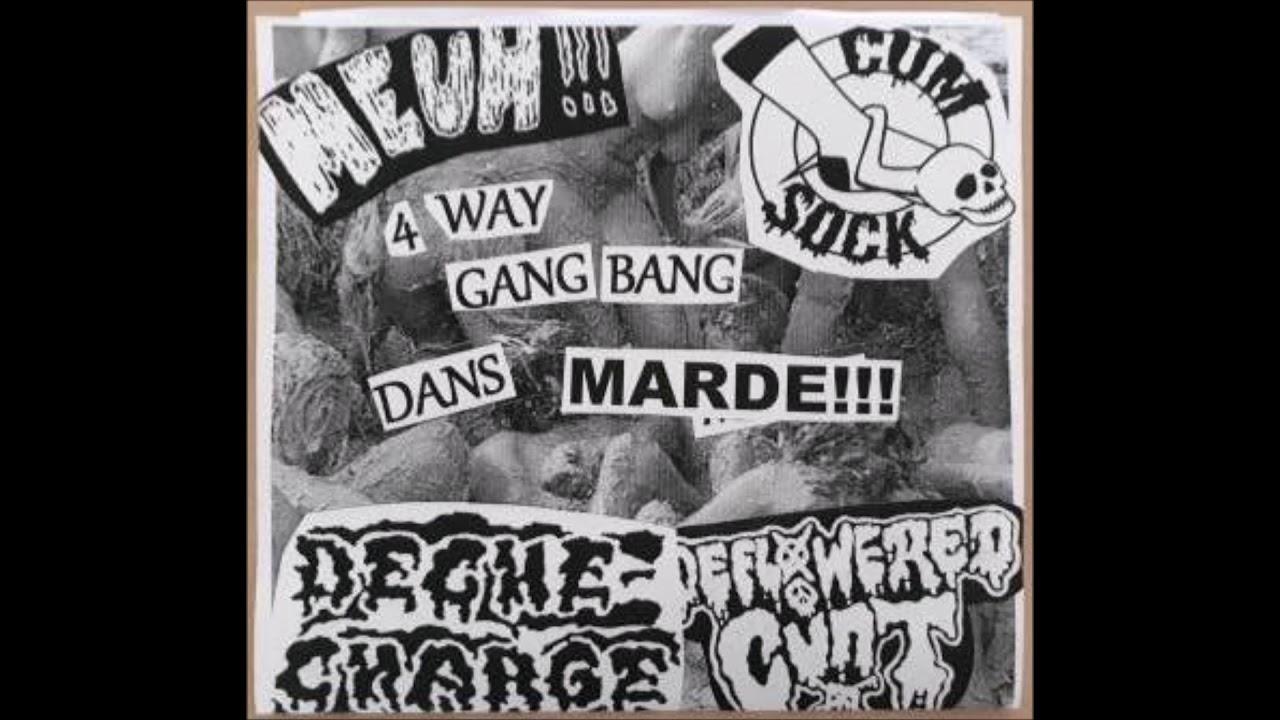 4 way gang bang dans marde!!!! full 7`