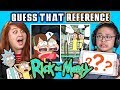 GUESS THAT RICK AND MORTY REFERENCE CHALLENGE | FBE Staff Reacts Videos [+50] Videos  at [2019] on realtimesubscriber.com