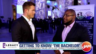 Bachelor Colton Underwood talks finding love, charity efforts