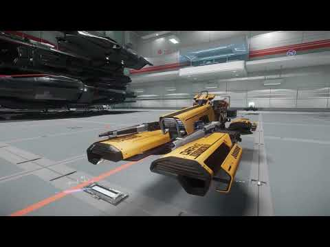 Star Citizen | 3.0 PTU New Ships Hangar Tour