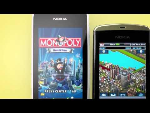 Nokia Asha   mobile games   YouTube