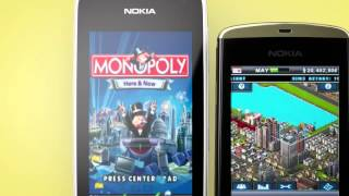 Nokia Asha   mobile games   YouTube