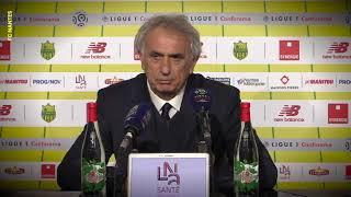 FC Nantes - Nîmes : la réaction des entraîneurs