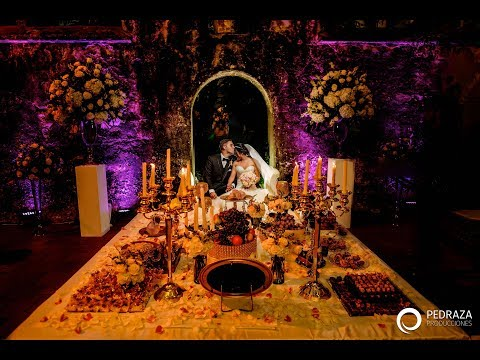 Persian Wedding in Cartagena Colombia, Mr and Mrs Arefi !!