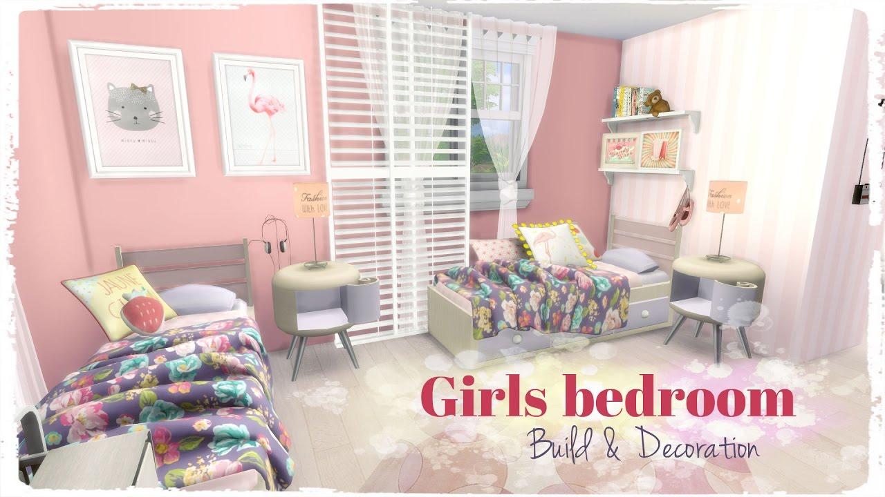 Merveilleux Sims 4   Girls Bedroom (Room + Mods For Download)   YouTube