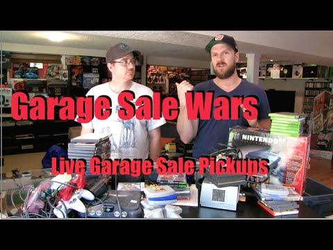 Live Garage Sale Pickups - Garage Sale Wars - Fantastic Day in Early May!!!