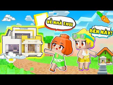 Kamui và Mr Vịt Thử Thách Parkour Về Nhà Màu Vàng trong Mini World