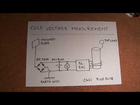 Simple Cold Electricity - Battery Voltage Measurement