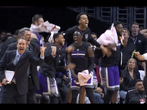 Sacramento Kings' Amazing Comeback from 18 Down with 5 Minutes Left! | March 26, 2017