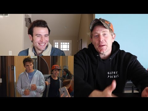 REACTING TO OUR FEATURE FILM 'FML'!!
