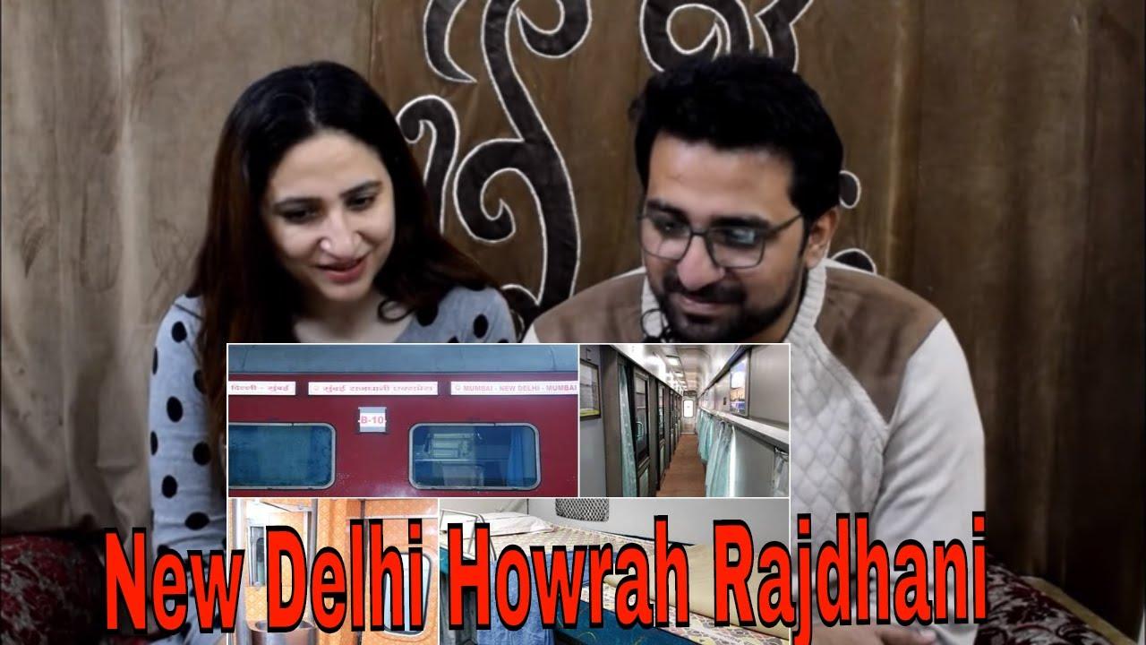 Pakistani React to Train To Bengal | New Delhi Howrah Rajdhani 1st AC Coupe Full Journey |