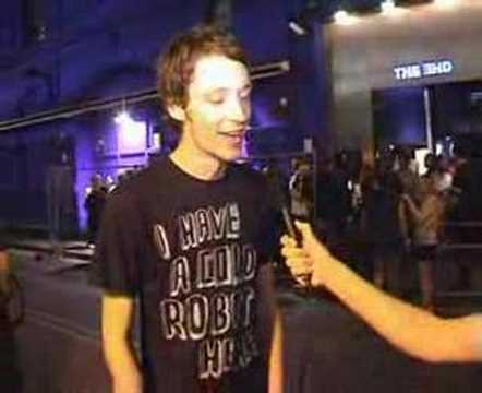 Alex Metric Interview at Chew The Fat