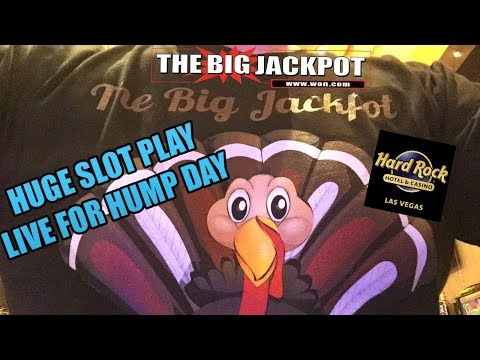 💣Hard Rock Casino Las Vegas Huge Slot Play Live for Hump Day💣