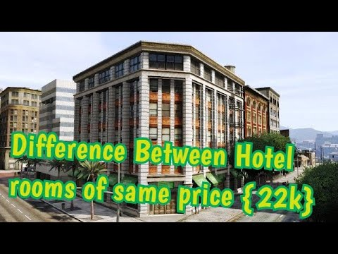 Gta SAMP : Difference between Hotel rooms of same price (22K)