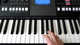 Обучение на синтезаторе Ivan Gough - In My Mind (by Toffa Alimoff)