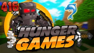 Minecraft Hunger Games: Episode 416 - My Child Dolphin!