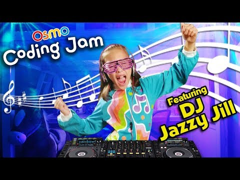 JAMMIN' WITH DJ JILLIAN!!! Making Tunes with Osmo Coding Jam!
