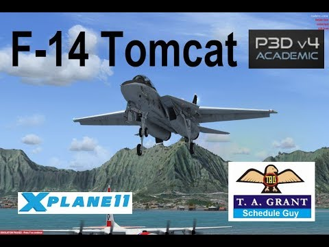 F 14 Tomcat In P3D And X-Plane 11