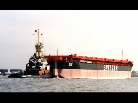 Coastal shipping on the Thames and Medway in the 1980's and 1990's Part 5