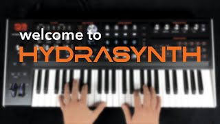 Take a tour of the ASM Hydrasynth