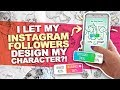 I TRUSTED YOU!! | Instagram Followers Design My Character | Character Design Art Challenge