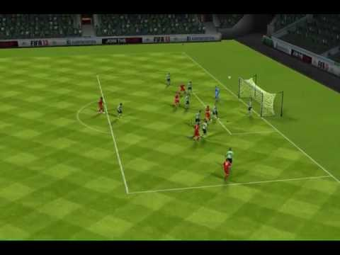 Long distance strike by FC Bayern vs Jeonbuk FC