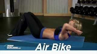 Air Bike - Ab Exercises - Bodybuilding.com