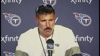 Titans Post-Practice Press Conference: Head Coach Mike Vrabel