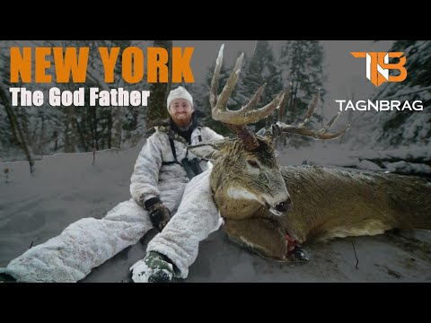 New York Deer Hunting 2018 - The God Father Buck