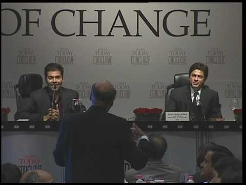 India Today Conclave: Q&A With Shah Rukh khan