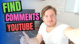 How To Find Your Comments On YouTube 2020