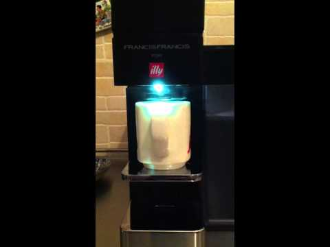 How to use an Illy y5 espresso machine