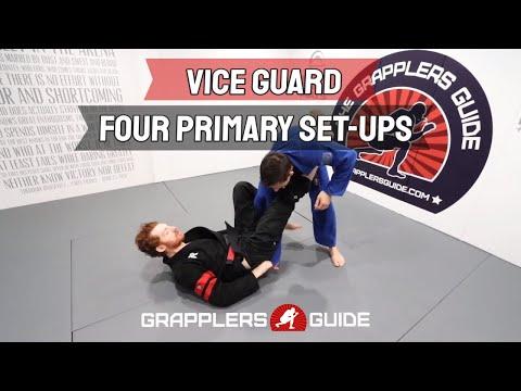 BJJ - Vice Guard Series - Four Primary Set-Ups - Jonathan Thomas