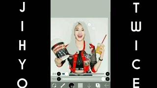 TWICE (트와이스) - Jihyo Silver Hair Color