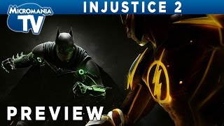 [PREVIEW] Injustice 2, le retour de la castagne entre super-héros