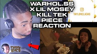 Warhol.ss - Kill Tek Piece ft. Lil Mosey (Dir. by @_ColeBennett_) | ELAJAS REACTS