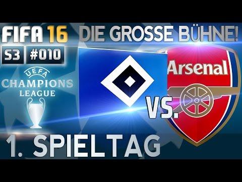 FIFA 16 - KARRIERE [S03E10   HD+] - DIE GROSSE BÜHNE! ● 1. SPIELTAG: HSV vs. FC ARSENAL   #133