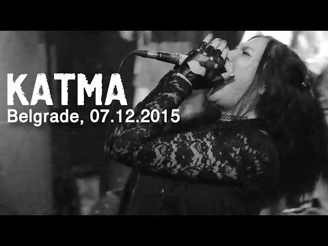 "KATMA - LAST SHOW in Belgrade, Club ""Fest"", 07.12.2015"