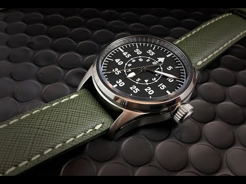Geckota K1 Pilot Watch:  Fantastic quality at budget price.