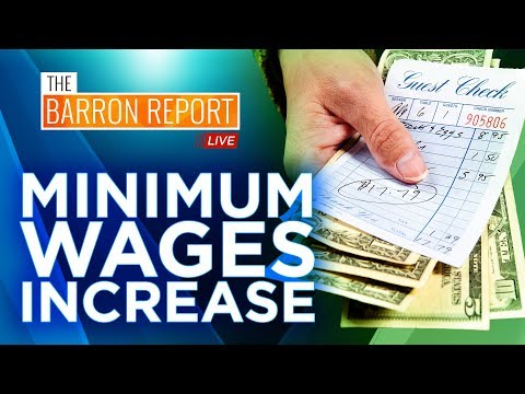 $15 Minimum Wage Increase in 20 States Including Tip Wages | The Barron Report Live