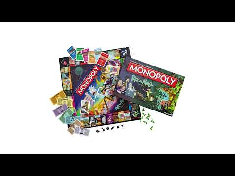 Monopoly - Rick and Morty Edition Board Game - Video