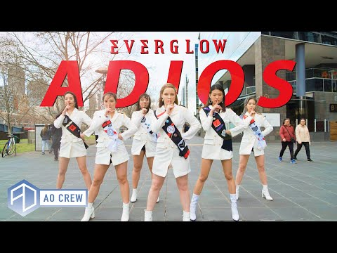 KPOP in Public EVERGLOW 'ADIOS' Dance Cover [AO Crew - Australia] ONE SHOT