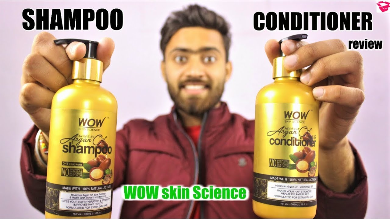 Moroccan Argan Oil Shampoo and Conditioner review | WOW Skin Science | QualityMantra