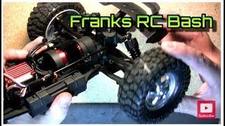 HBX Dune Thunder 12891 Brushless Motor, ESC, Servo Mod Upgrade - Holy CRAP!