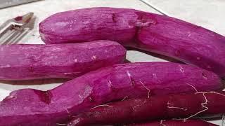 AWESOME! ~~~ Purple Sweet Potatoes~~~