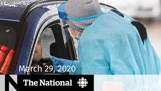 WATCH LIVE: The National for Sunday, March 29 - Preparing for a surge of COVID-19 cases
