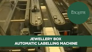 Jewellery Box Automatic Labelling Machine And Label Applicator