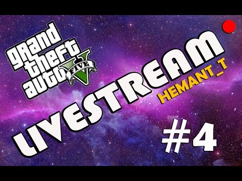 "GTA 5 Online Hindi ""Team Green vs Team Orange"" Live PS4 Broadcast (HT_T Live #4)"
